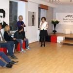 Eugenia Iliescu hält eine Ansprache